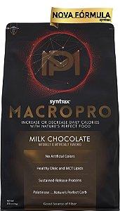 MACRO PRO SYNTRAX  2.270 G  - MILK CHOCOLATE  (embalagem economica com 55 doses/refeições)
