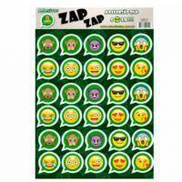 CARTELA DE ADESIVO ZAP ZAP EMOTICONS WHATSAPP C/30UN R.558