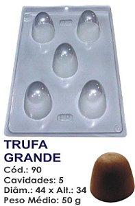 FORMA PLÁSTICA PARA CHOCOLATE BWB TRUFA GRANDE UN R.90_504