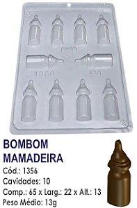 FORMA PLÁSTICA PARA CHOCOLATE BWB BOMBOM MAMADEIRA CHÁ DE BEBÊ UN R.1356