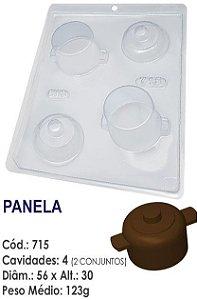 FORMA PLÁSTICA PARA CHOCOLATE BWB BOMBOM PANELA DE COZINHA UN R.715