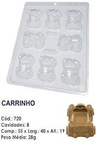 FORMA PLÁSTICA PARA CHOCOLATE BWB BOMBOM CARRINHO UN R.720