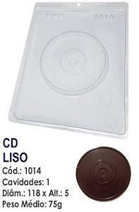 FORMA PLÁSTICA PARA CHOCOLATE BWB CD LISO UN R.1014