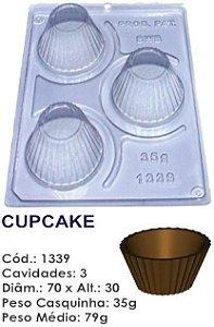 FORMA PARA CHOCOLATE COM SILICONE BWB FORMINHA CUPCAKE UN R.1339