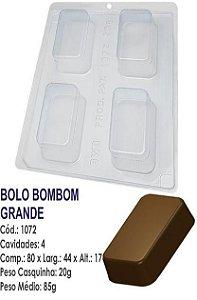 FORMA PARA CHOCOLATE COM SILICONE BWB BOLO BOMBOM GRANDE UN R.1072