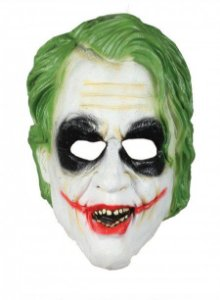 MASCARA DE LATEX CORINGA FILME BATMAN JOKER R.CF188