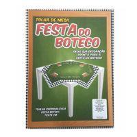 TOALHA DE MESA FESTA DO BOTECO C/5UN 78CMX78CM R.605