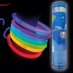 PULSEIRAS DE NEON LIGHT STICK C/100UN R.DS5783