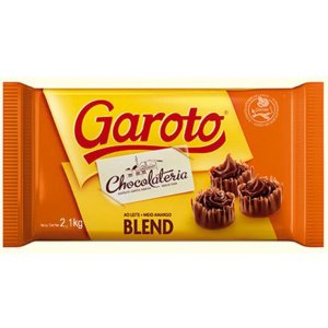 CHOCOLATE GAROTO BLEND 2,1KG