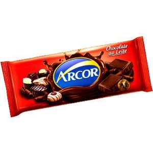 CHOCOLATE ARCOR AO LEITE 1,05KG (NOVO) R.15018