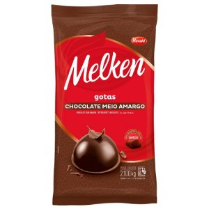 CHOCOLATE H. GOTAS MELKEN MEIO AMARGO 2,100KG R.103673