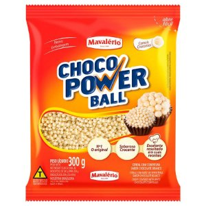 CHOCO POWER MINI BALL BRANCO C/300GR R.4154
