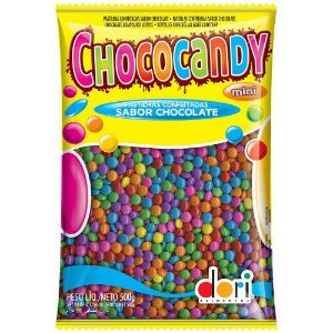 CONFETE DE CHOCOLATE CHOCOCANDY MINI D.500GR