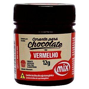 CORANTE PARA CHOCOLATE VERMELHO 12G MIX UN