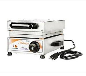Máquina de fazer Crepe Suíço Crepeira de 6 Cavidades 110v