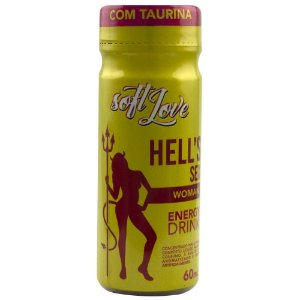 HELLS SEX WOMAN ENERGY DRINK 60ML