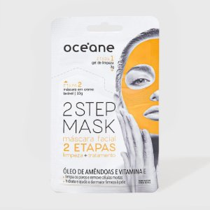 Máscara Facial Óleo de Amêndoas e Vitamina E - 2 Step Mask by Océane