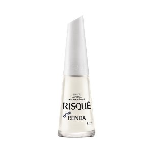Esmalte Risque Cremoso Natural Renda