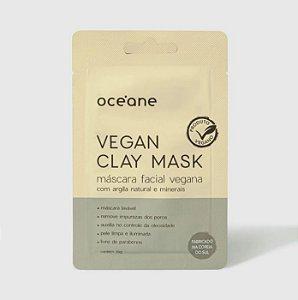 Máscara Facial Vegana C/ Argila de Bentônita - Vegan Clay Mask 15g