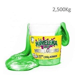 Kimeleka Smile Verde Metálico - 2,5