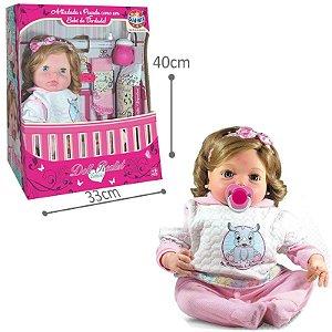 Boneca Coleção Doll Realist Yasmin