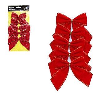 Enfeites de Natal - Laços Vermelhos