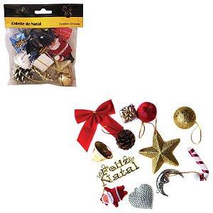 Kit Enfeites de Natal Árvore Diversos