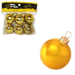 Bolas de Natal brilhantes