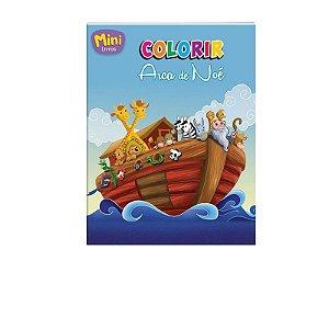 Mini Livro Colorir Arca de Noé