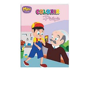 Mini Livro Colorir - Pinóquio