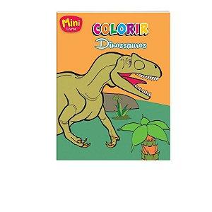 Mini Livro Colorir - Dinossauros