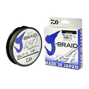 Linha Multifilamento Daiwa J-Braid X4U 15Lbs 0,19mm