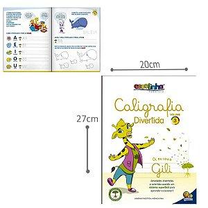 Livro Escolinha Caligrafia Divertida