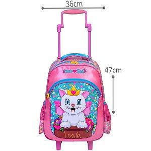 Mochila Infantil Rodas Mini Bell