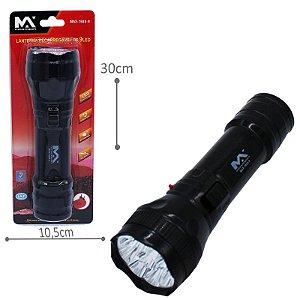 Lanterna manual recarregável 9 LED