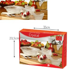 Tigelas para sobremesa- Crystal 7 und