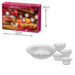 Conjunto Sobremesa Barroco - 7 und