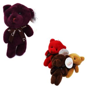 Chaveiro Urso Cores Diversas