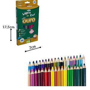 Lápis de Cor - 36 cores