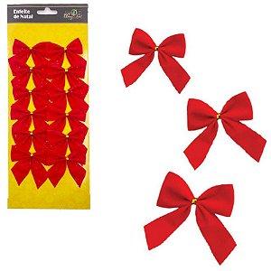 Enfeites de Natal - Laços Vermelho