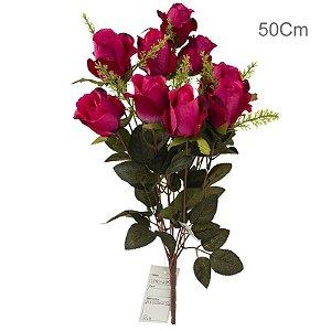 Botão de Rosas - 11 Flores