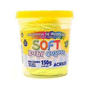 Massa de Modelar Baby Colors - Amarelo bebê