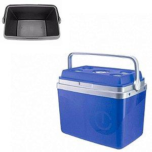 Caixa Térmica Azul - 32L