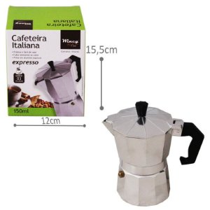 Cafeteira Italiana - 3 xícaras