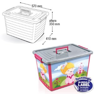 Container Label Rosa - 50 Lts