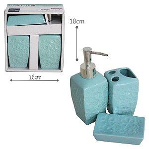 Kit Banheiro Porcelanato - 3 pçs