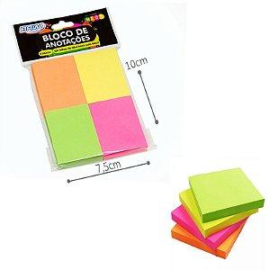 Bloco de Anotações - Colorido Neon