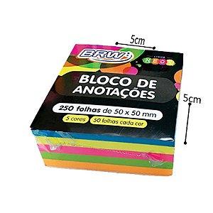 Bloco de Anotações - 1 bloco de 5 cores