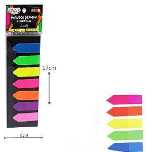 Marcador de Páginas Seta - Neon