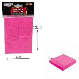 Blocos de Anotações Rosa - Neon 4 und